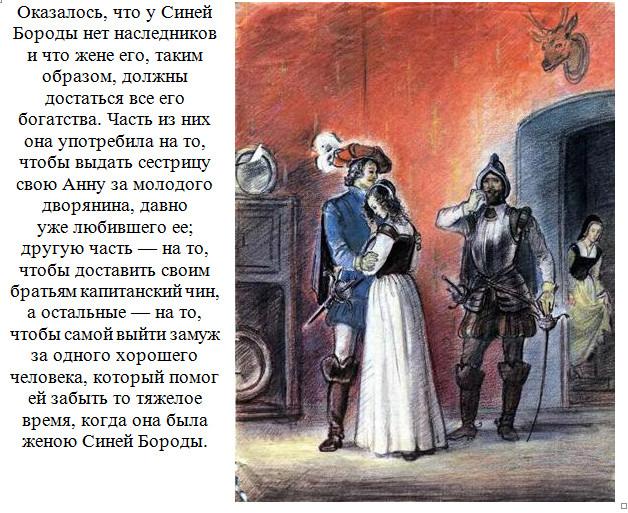 """Иллюстрации к сказке """"Синяя Борода"""". 13."""