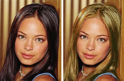 брюнетка или блондинка